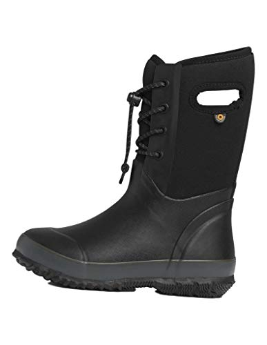 Bogs Outdoor Boots Kids Arcata Lace Waterproof 7 Youth Black 72442