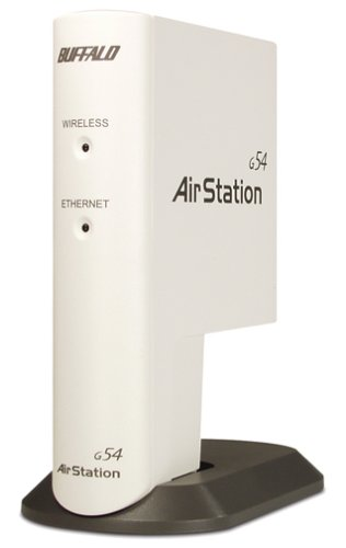 (Buffalo Technology AirStation 54Mbps Wireless Compact Repeater Bridge-g (WLA-G54C) )