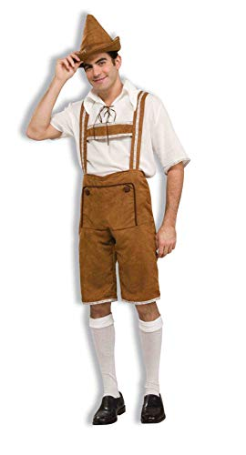 Men's Hansel Costume, Brown/Off White, One Size]()