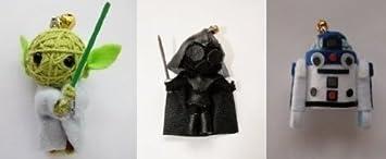 String Doll World Darth Vader, Yoda y R2D2 vudú muñeca de ...