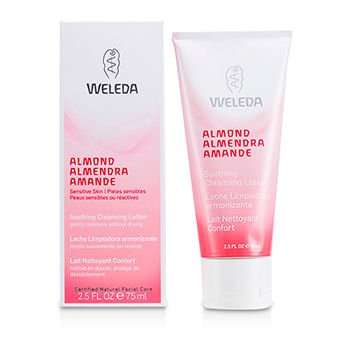 Weleda Cleansing Lotion (Almond Soothing Cleansing Lotion For Sensitive Skin 75ml/2.5oz)