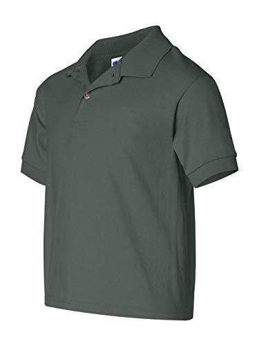 GILDAN Boys 5.6 oz DryBlend 50//50 Jersey Polo G880B