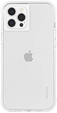 Pelican - Ranger Series - Case for iPhone 12 and iPhone 12 Pro (5G) - 15 ft Drop Protection - 6.1 Inch - Clear