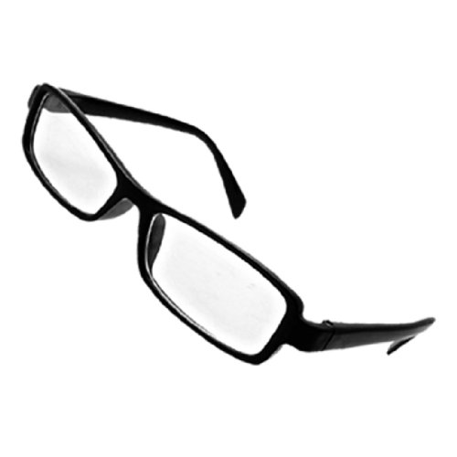 HIgh Fashion Chic Eyeglasses Glasses in Black Rectangular Spectacle - Spectacles Fashion