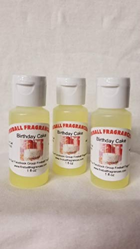 Amazon 3 Pack Of Birthday Cake Scented Oil By Fireball