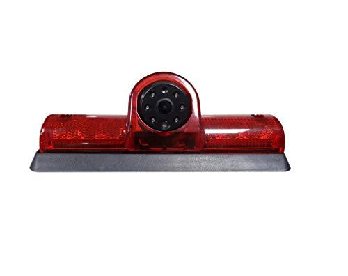 Car Third Roof top Mount Brake lamp Camera Brake Light Replacement Rear View Backup Camera for Transporter Nissan NV Passenger Cargo Van NV1500/NV2500/NV3500(2009-2014)