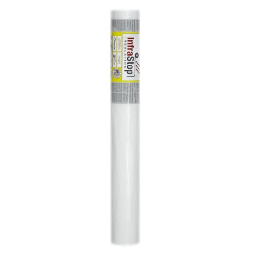 "Tempshield InfraStop 48"" X 10' White Double Bubble Reflec..."