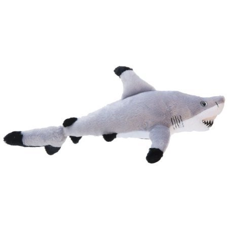 Black Tip Shark 14 inch - Stuffed Animal by The Petting Z...