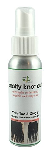 Knotty Knot Out Hair Extension Detangler Hair Shine Heat Pro
