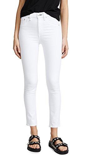 Rag & Bone/JEAN Women's High Rise Skinny Jeans, Blanc, 24 from Rag & Bone/JEAN