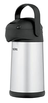 Thermos Stainless Steel 2.7-Quart Pump Pot from Nissan