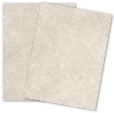 Astroparche - GRAY - 8.5 x 11 Parchment Card Stock - 65lb Cover - 250 PK ()