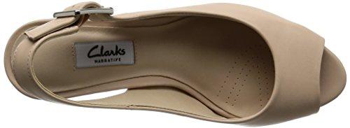 Clarks Sandales Nude Kelda Ouvert Leather Bout Spring Beige Femme zEz6qrWw