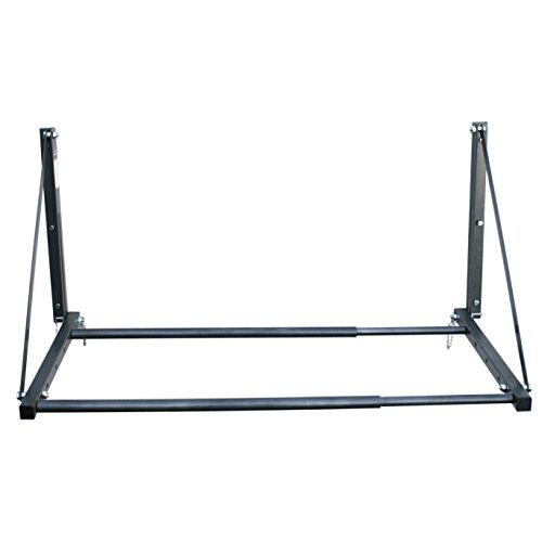 MaxxHaul 70489-300 lb Capacity Foldable and Adjustable Wall Mount Tire Rack