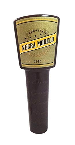 Negra Modelo Cerveza Short 1925 Beer Tap Handle Keg Marker