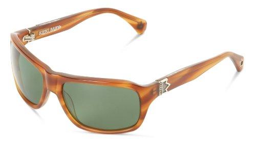 King Baby Sunglasses - King Baby Sunglasses Rust Hex E17-0013