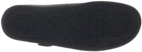 Ganter Flora, Weite F 4-204242-68000 - Bailarinas de cuero nobuck para mujer Gris