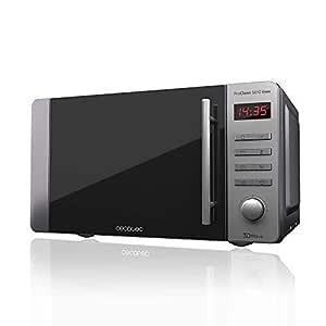 Cecotec Microondas ProClean 5010. Capacidad de 20l, Revestimiento Ready2Clean, 700 W en 5 niveles de potencia, 5 Niveles Funcionamiento, 8 Programas, ...