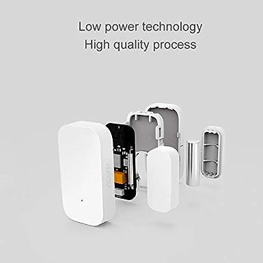 Kit di sicurezza Xiaomi Aqara Zigbee Smart Home 4 1 x Xiaomi Smart Gateway 2 x Aqara sensore per porta e finestra 1XGateway+1X Sensor de puerta y venta a 1 x Aqara Controller a cubo magico