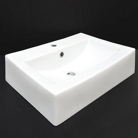 Lavandino Quadrato Per Il Bagno Ca. 60 Cm