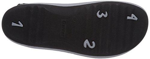 Ganter HERA, Weite H - sandalias abiertas de cuero mujer gris - Grau (ozean 3000)