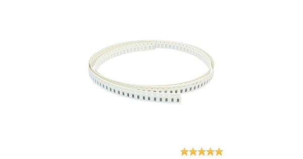 Uxcell a14042400ux0141 200 Piece 1206 51 Ohm 5/% Tolerance Flexible PCB SMD Chip Resistors Strip