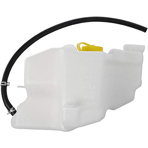 Coolant Reservoir Expansion Tank compatible with Nissan Altima 02-06 Quest 04-09 Assembly W/Cap and Hose Plastic