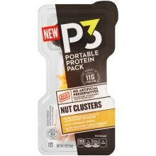 p3-turkey-breast-mild-cheddar-chocolate-peanut-nut-cluster-2-ounce-10-per-case