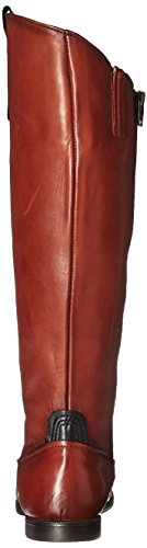 Sebago Women's Plaza Tall Boot Cognac Leather Y0Gi1b