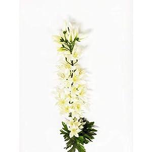 "Darice DS-1242-01 Everyday Long stem Delphinium, 32"", White 43"