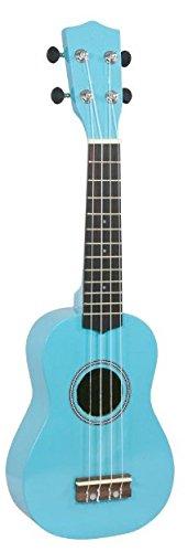 Aloha 7M16AC - Ukelele soprano, color azul turquesa