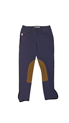 Rise Low Breech (Tailored Sportsman Trophy Hunter Low Rise Ladies Purple Heart Tan Patch 28R)
