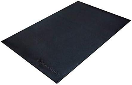 fitnessdigital Protector de Suelo Esterilla Color Negro (100 x ...
