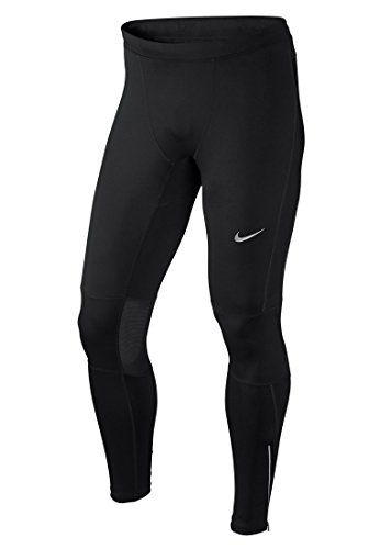 Nike Men's Dri-FIT Essential Running Tights Black/Reflective Silver Size X-Large by Nike (Image #4)