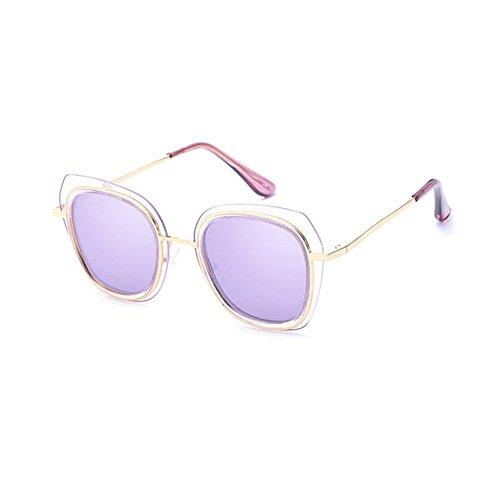 Sol Axiba Gafas Grandes polarizado de Gafas D Color oscuras Estrellas Tendencia Gafas creativos de Brillante Regalos y Hombre Sol XpfxqrpB