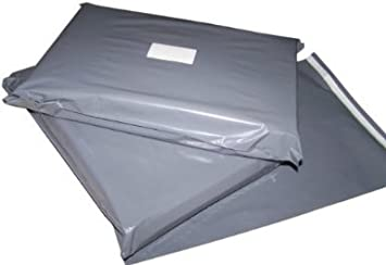 STRONG GREY POSTAGE MAILING BAGS *100/% BIODEGRADABLE* Free postage in UK