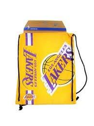 - Los Angeles Lakers Big Logo Drawstring Backpack