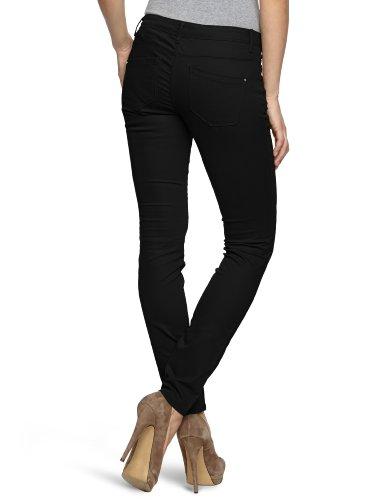 Only Skinny Low Liva Pant - Pantalones para mujer Negro