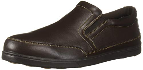 Florsheim Work Men's Stoss FS2620 Industrial and Construction Shoe, Brown, 12 3E US