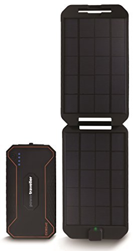Powertraveller Extreme Waterproof Rugged Charger - Black by Powertraveller