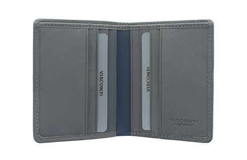 Grey Collection Leather Grey Multi MANS RAC16 Multi With Wallet Visconti Racing Protection RFID LE Tqw75xv4