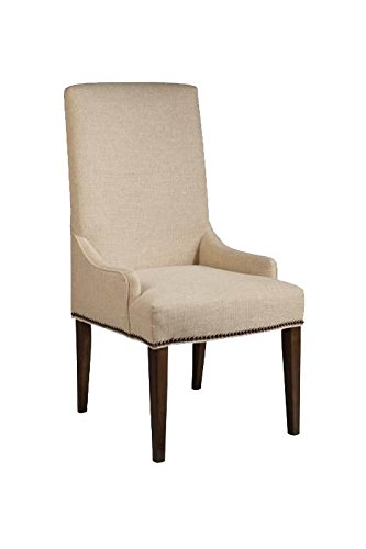 Magnussen D2503-63 Rothman Warm Stained Finish Upholstered Chair, Set of 2 ()