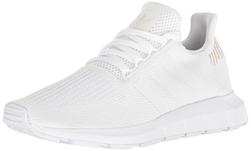 adidas Originals Women's Swift Running Shoe, White/Crystal White/White, 9 M US
