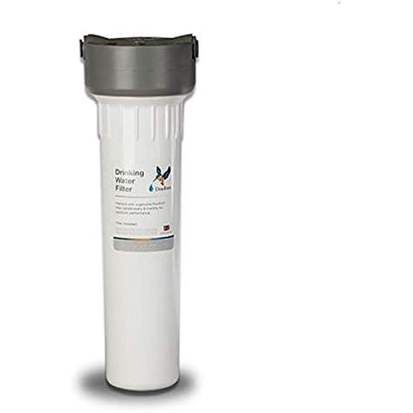 Doulton HIP, Filtro purificador de agua, bajo encimera, de plástico, color blanco: Amazon.es: Bricolaje y herramientas