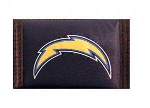 Rico Industries NFL San Diego Chargers Trifold Wallet (Tri Fold Wallet Nfl Football)