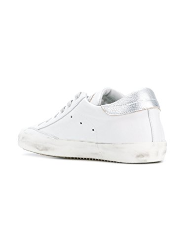 Philippe Model Dames Clldsd01 Witte Lederen Sneakers