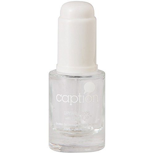 (Young Nails Caption Nail Polish, Drying Drops, 0.34 Fluid Ounce )