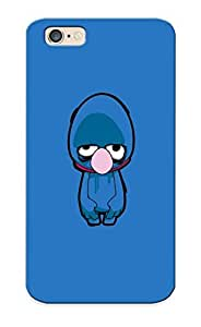 Freshmilk 5c159321631 Case Cover Skin For Iphone 6 (tv Cartoons Zombies Brain Sesame Street Grover )/ Nice Case With Appearance