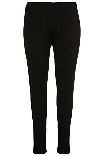 Ulla Popken Femme Grandes Tailles Taille Haute Leggings Pleine Longueur Grandes Tailles Lwp 665315