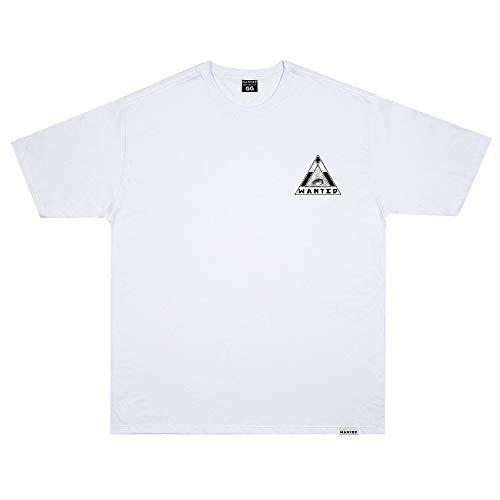 Camiseta Wanted - Logo nas Costas branco Cor:Branco;Tamanho:M